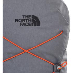The North Face Jester Rugzak, zinc grey dark heather/persian orange